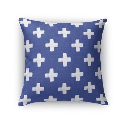 Swiss Cross Throw Pillow Size: 16 H x 16 W x 5 D