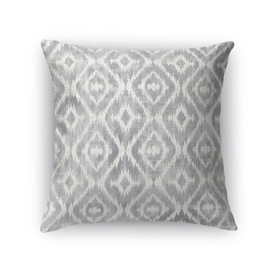Delores Throw Pillow Size: 18 H x 18 W x 5 D, Color: Gray