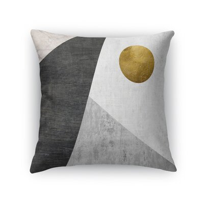 Night Moon Throw Pillow Size: 18 H x 18 W x 5 D