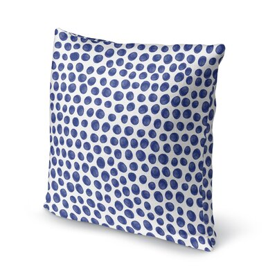 Paint Dot Accent Pillow Size: 18 H x 18 W x 5 D