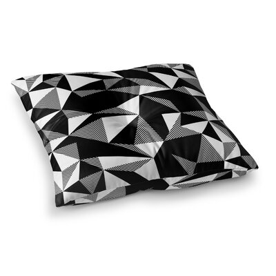 Shattered Floor Pillow Size: 26 H x 26 W x 12.5 D