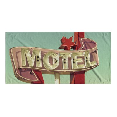 Motel Beach Towel