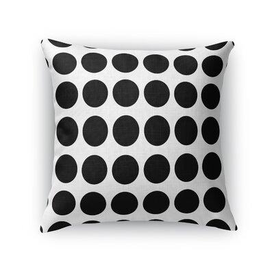 Fat Dot Throw Pillow Size: 18 H x 18 W x 5 D