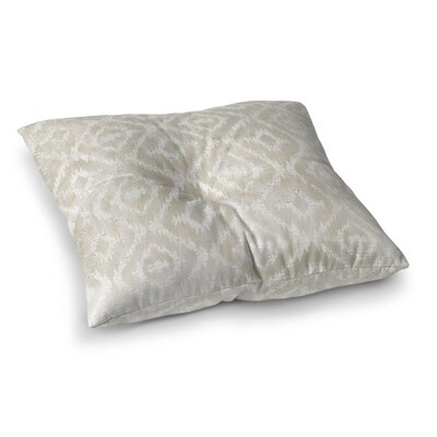Delores Floor Pillow Size: 23 H x 23 W x 9.5 D, Color: Ivory