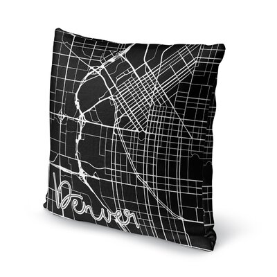 Denver Accent Pillow Size: 16 H x 16 W x 5 D