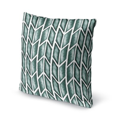 Arrows Accent Pillow Size: 24 H x 24 W x 5 D, Color: Green