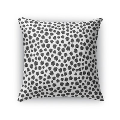 Jagged Spots Throw Pillow Size: 18 H x 18 W x 5 D