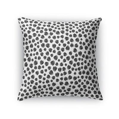 Jagged Spots Throw Pillow Size: 16 H x 16 W x 5 D
