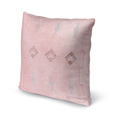 Dishman Throw Pillow Size: 16 H x 16 W x 5 D