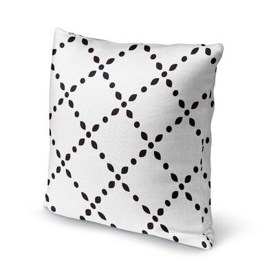 Spot Diamond Accent Pillow Size: 18 H x 18 W x 5 D