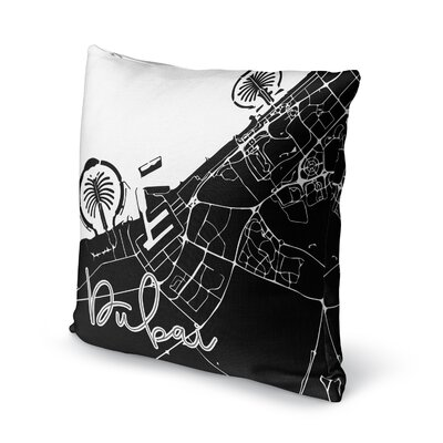 Dubai Accent Pillow Size: 16 H x 16 W x 5 D