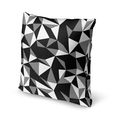 Shattered Accent Pillow Size: 16 H x 16 W x 5 D