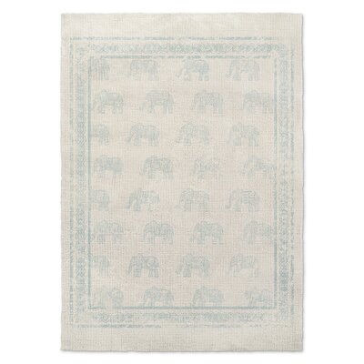 Netea Blue Area Rug Rug Size: Rectangle 8 x 10