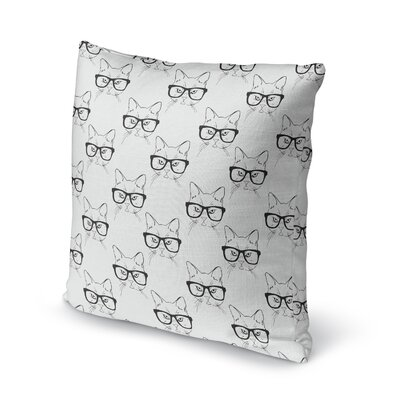 Hipster Nyx Accent Pillow Size: 16 H x 16 W x 5 D