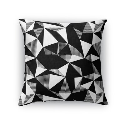 Shattered Throw Pillow Size: 16 H x 16 W x 5 D