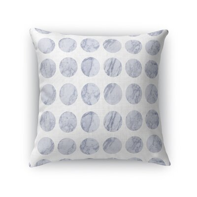 Fat Dot Marble Throw Pillow Size: 24 H x 24 W x 5 D