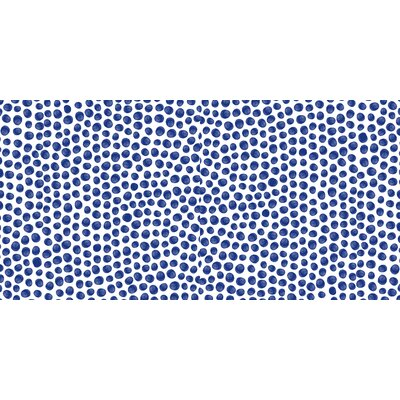 Paint Dot Floor Pillow Size: 23 H x 23 W x 9.5 D