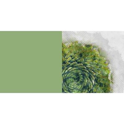 Prince Aloe Floor Pillow Size: 23 H x 23 W x 9.5 D