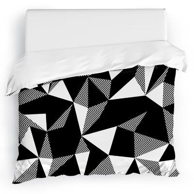 Shattered Duvet Cover Size: Full/Queen
