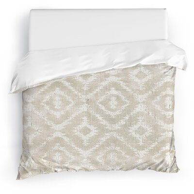 Christophe Duvet Cover Size: Twin, Color: Ivory