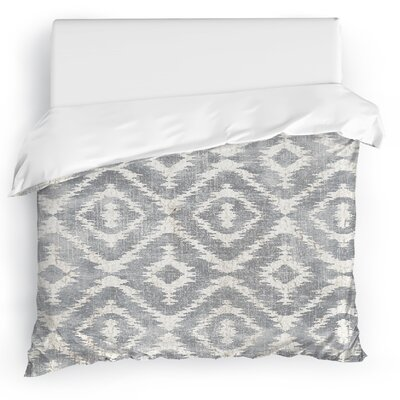 Christophe Duvet Cover Size: King, Color: Gray