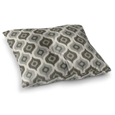 Harmony Square Floor Pillow Color: Gray, Size: 23 H x 23 W x 9.5 D
