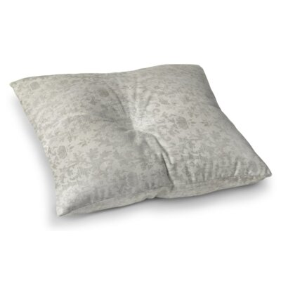 El Dorado Square Floor Pillow Size: 23 H x 23 W x 9.5 D, Color: Light Gray