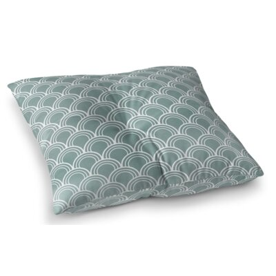 Loops Square Floor Pillow Size: 23 H x 23 W x 9.5 D
