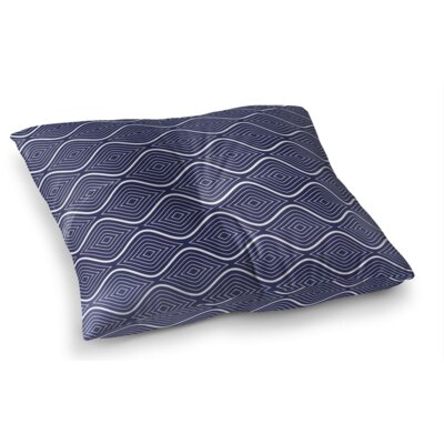 Flowing Ogee Square Floor Pillow Size: 23 H x 23 W x 9.5 D