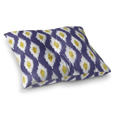 Abstract Abyss Square Floor Pillow Size: 23 H x 23 W x 9.5 D