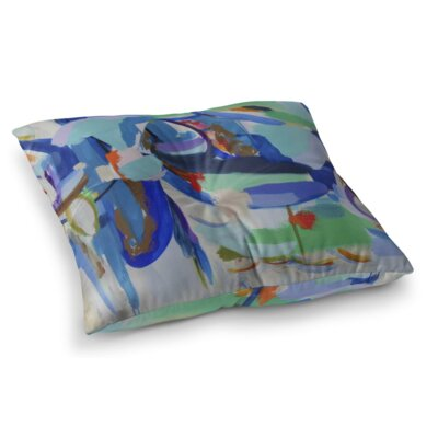 Taco Truck Square Floor Pillow Size: 26 H x 26 W x 12.5 D