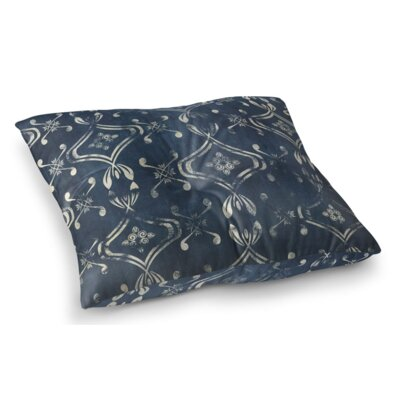 El Dorado Square Floor Pillow Size: 26 H x 26 W x 12.5 D, Color: Navy