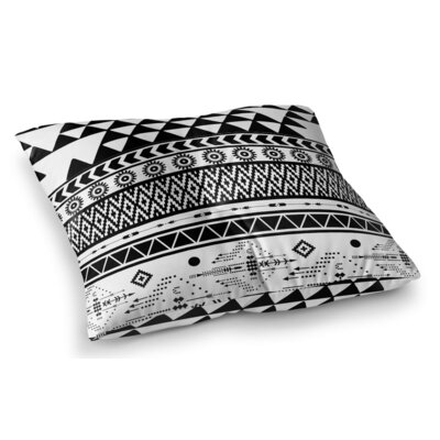 Moroccan Square Floor Pillow Size: 23 H x 23 W x 9.5 D