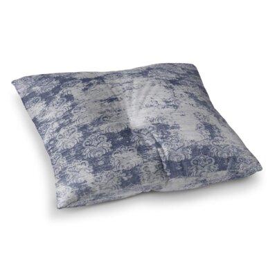 Cataleya Floor Pillow Size: 26 H x 26 W x 12.5 D, Color: Blue