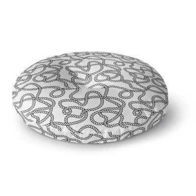 "Rope Floor Pillow Size: 23"" H x 23"" W FPI-FPR23-23X23-TEL8330"