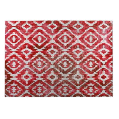 Christophe Warm Pink Indoor/Outdoor Area Rug Rug Size: Square 8