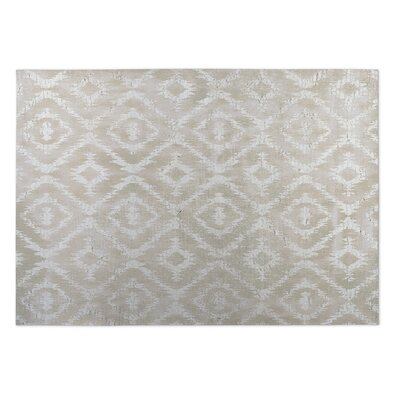 Christophe Ivory Indoor/Outdoor Area Rug Rug Size: Square 8