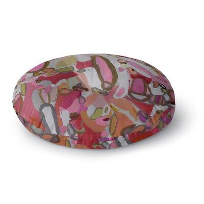 "Pretty Pink Pills Floor Pillow Size: 26"" H x 26"" W FPI-FPR26-26X26-SSK3534"