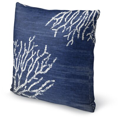 Sultana Accent Pillow Size: 24 H x 24 W x 5 D, Color: Blue