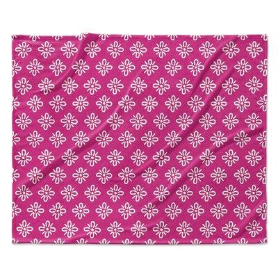 Boom Boom Fleece Blanket Size: 60 W x 80 L