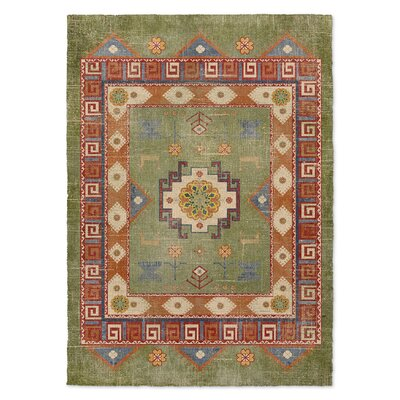 Negropo Green Area Rug Rug Size: 5 x 7