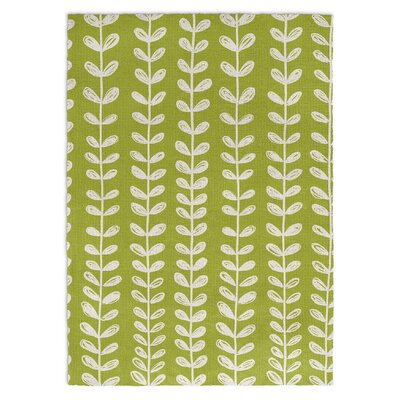 Zebra Green/White Area Rug Rug Size: Rectangle 2 x 3