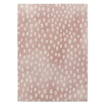 Bunny Pink Area Rug Rug Size: Rectangle 3 x 5