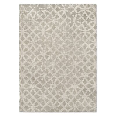 Vasques Gray Area Rug Rug Size: 5 x 7
