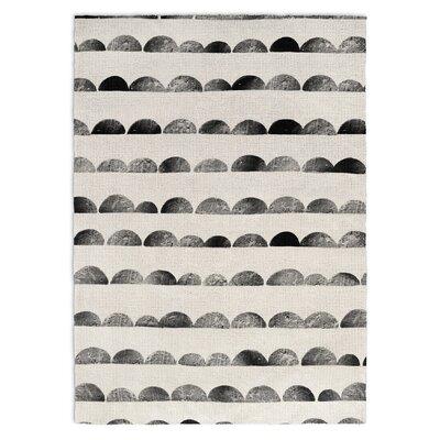 Bear Black/Ivory Area Rug Rug Size: 3 x 5