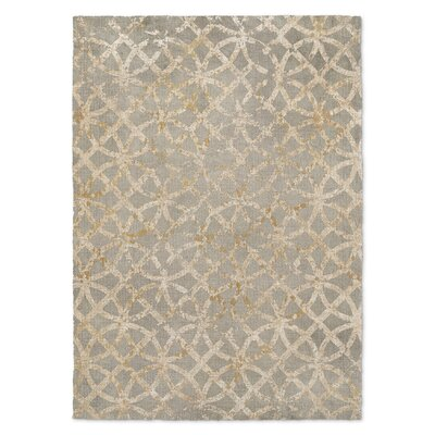 Lehigh Gray/Orange Area Rug Rug Size: 3 x 5