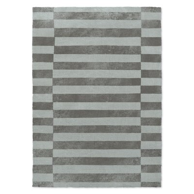 Elephant Blue/Gray Area Rug Rug Size: Rectangle 2 x 3