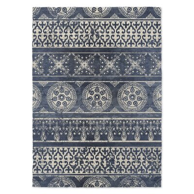 Duddleston Blue Area Rug Rug Size: 2 x 3