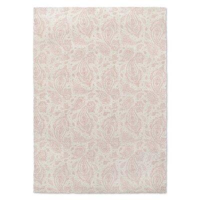Saxatile Pink Area Rug Rug Size: 8 x 10