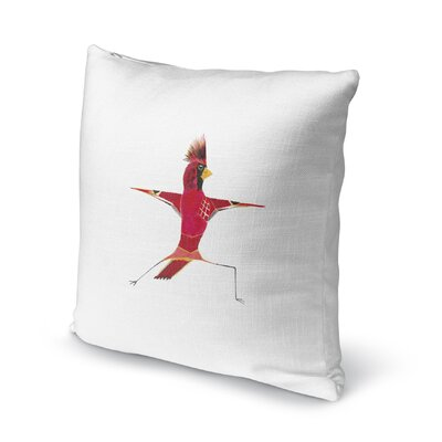 Mystical Cardinal Accent Pillow